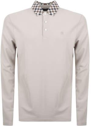 Aquascutum London Coniston Polo T Shirt Beige