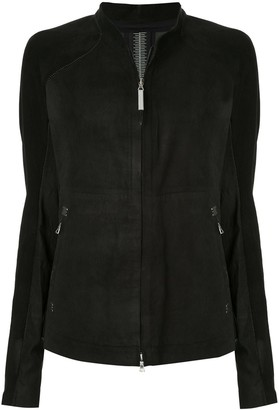 Isaac Sellam Experience zipped fitted jacket