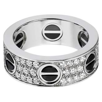 Cartier Love White White gold Ring