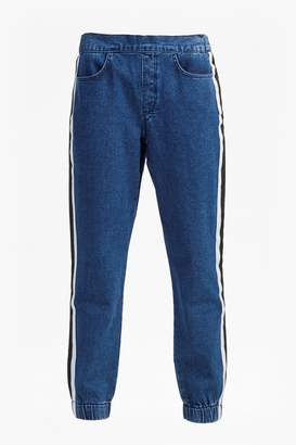 French Connenction Theo Denim Track Pants