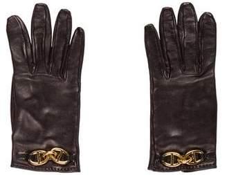 Hermes Chaîne d'Ancre Gloves
