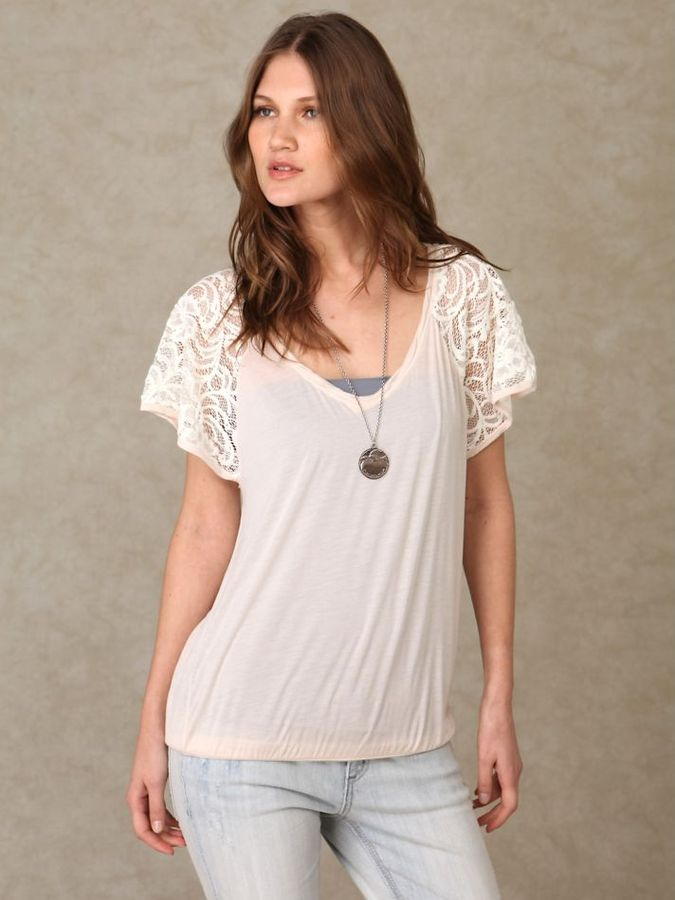 Arms Lace Top