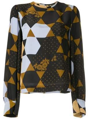 Stine Goya hexagon print blouse