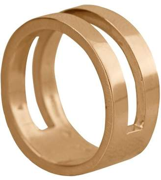 Edge Only - Parallel Ring in 14ct Gold