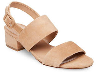 Steve Madden Slip-On Leather Sandals