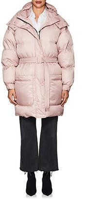 IENKI IENKI Women's Down-Quilted Oversized Belted Coat - Rose