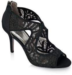 Adrianna Papell Arissa Lace and Satin Dress Pumps