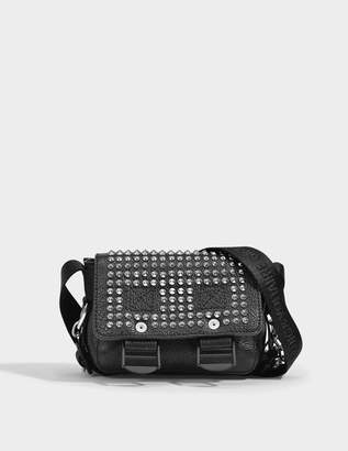 Zadig & Voltaire Readymade Nano Bag in Black Quilted Calf Leather