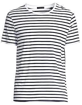 ATM Anthony Thomas Melillo Men's Classic Stripe Short Sleeve T-Shirt
