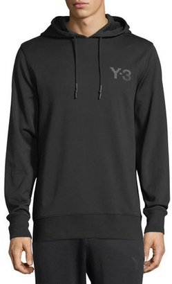 Y-3 Classic Cotton French Terry Logo Hoodie $200 thestylecure.com