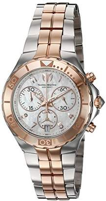 Technomarine Women's 'Sea Pearl' Quartz Stainless Steel Casual Watch (Model: TM-715002)