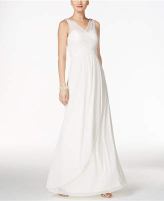 Adrianna Papell Ruched Embellished Gown $189 thestylecure.com