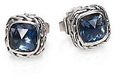 John Hardy Women's Classic Chain Sterling Silver Stud Earrings
