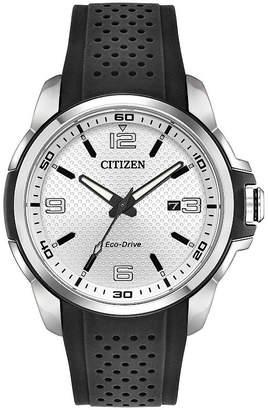 DRIVE FROM CITIZEN ECO-DRIVE Drive from Citizen Mens Black Strap Watch-Aw1150-07a
