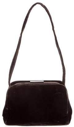 4bdcbc1f283f Prada Velvet Bag - ShopStyle