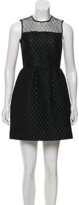 RED Valentino Quilted Sleeveless Dress