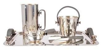 Barneys New York Barney's New York 5-Piece Silverplate Barware Set