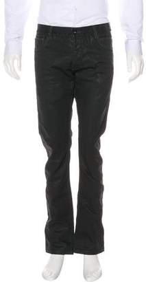 Rick Owens Detroit Coated Skinny Jeans