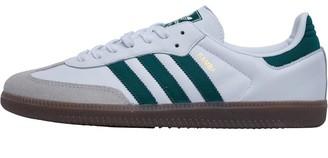 Mens Samba OG Trainers Footwear White/Collegiate Green/Crystal White