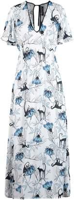Markus Lupfer 3/4 length dresses