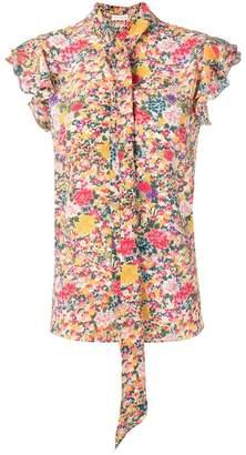 Etro bohemian flowers blouse