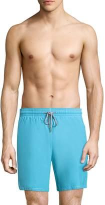 Vilebrequin Men's Elasticized Cotton Swim Trunks