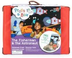Props in a Box The Fisherman and Astronaut Movie Maker Kit