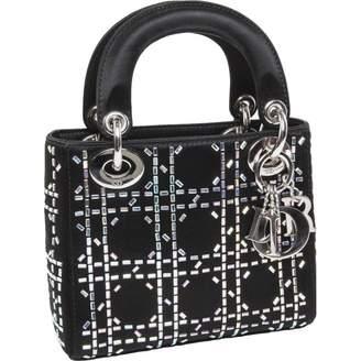 Christian Dior Lady silk handbag
