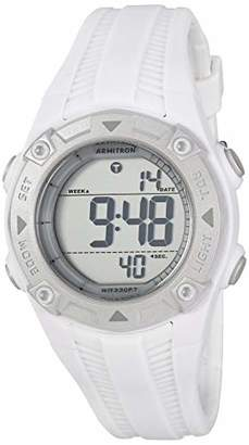 Armitron Sport Women's 45/7052WHT Resin Strap Watch