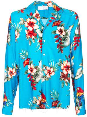 Rhude floral print shirt