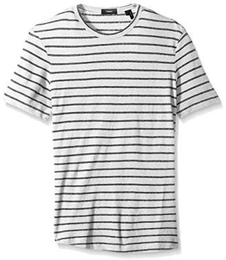 Theory Men's Striped Short Sleeve Tee