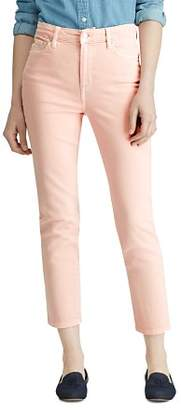 Ralph Lauren Straight-Leg Jeans in Pink