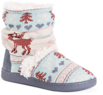 Muk Luks Women'S Holly Bootie Slippers