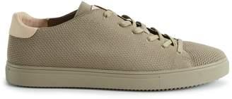 Reiss Bradley Knit Clae Knitted Sneakers