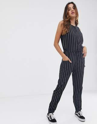 RVCA Pop Out jumpsuit in stripe