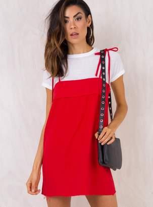 The Vale Tie Shoulder Dress