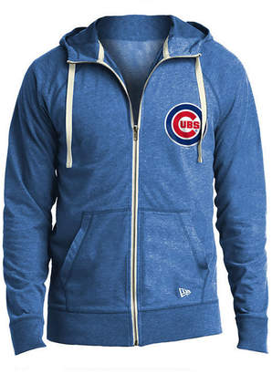 New Era Men's Chicago Cubs Sueded Full-Zip Hoodie