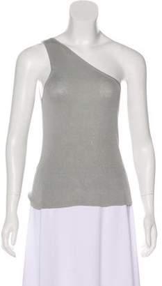 Gucci Silk One-Shoulder Top