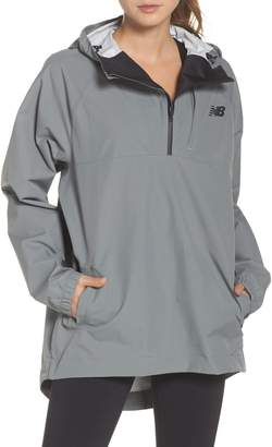 New Balance 247 Luxe Water Resistant Anorak Jacket