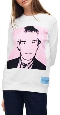 Calvin Klein Jeans Crewneck Warhol Portrait Pullover