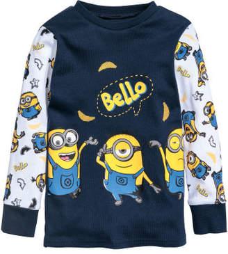 H&M Jersey Pajamas - Yellow