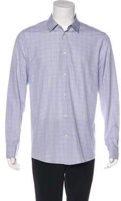 Maison Margiela Plaid Woven Shirt