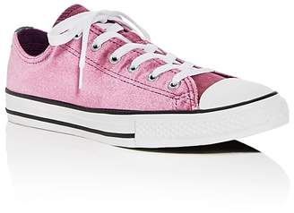Converse Girls' Chuck Taylor All Star Double Tongue Velvet Lace Up Sneakers - Toddler, Little Kid, Big Kid