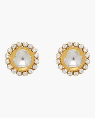 Amrapali Legend Kundan Diamond Post Earrings