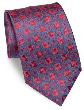 CharvetCharvet Textured Silk Tie