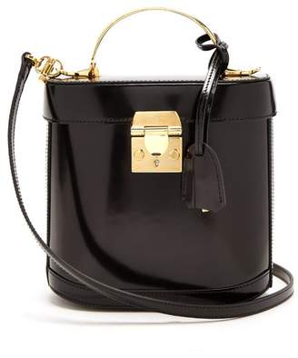 Mark Cross Benchley Leather Shoulder Bag - Womens - Black