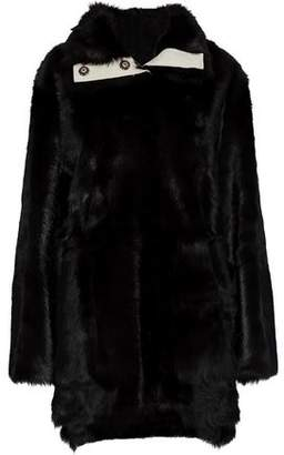 Yves Salomon Meteo By Reversible Goat Hair Jacket