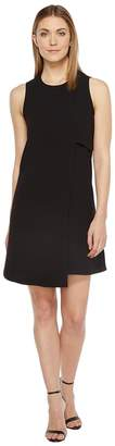 Karen Kane Asymmetric Shift Dress Women's Dress