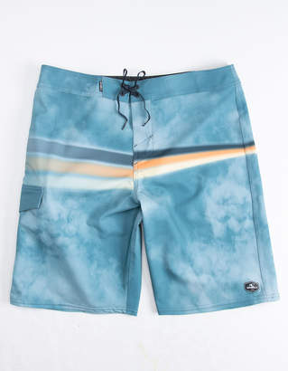 O'Neill Hyperfreak Zap Blue Mens Boardshorts