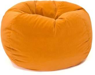 Gold Medal Medium Microfiber Faux-Suede Corduroy Bean Bag Chair